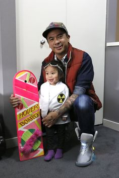 father daughter back to the future costume