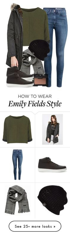 """""""Emily Fields inspired school outfit"""" by liarsstyle on Polyvore featuring H&M, Topshop, Jack & Jones, Forever 21, UGG Australia, NARS Cosmetics, women's clothing, women, female and woman"""