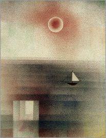 Paul Klee - Calm Sea at Z...