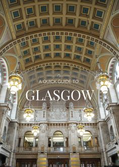 Glasgow City Guide