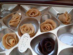 Buttercream Flowers, Favorite Things, Chocolate, Coffee, Kaffee, Chocolates, Cup Of Coffee, Brown