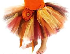 Whimsical Autumn Tutu