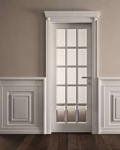 Benefits that you could derive by using the interior wood doors for your home or office. Interior Door Styles, Classic Doors, Interior, Neoclassical Interior, Home, Glass Door, Doors Interior, Wood Doors Interior, Door Glass Design