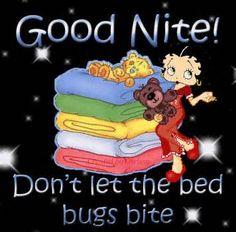 Glitter Text » Greetings » Betty Boop, good Night