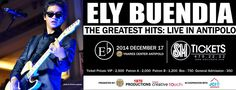 ELY BUENDIA: The Greatest Hits Live in Antipolo