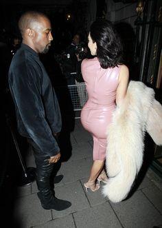 Pictures of Kanye West Checking Out Kim Kardashian | POPSUGAR Celebrity Photo 16