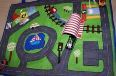 Portable Car-Carpet for Little Boys