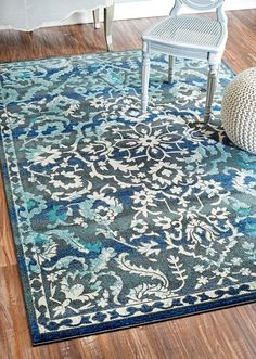 awesome nuLOOM Modern Vintage Abstract Blue Rug x Living Room Area Rugs, Living Room Carpet, Dining Room, Room Rugs, Plush Area Rugs, Quality Carpets, Machine Made Rugs, Rugs Usa, Modern Area Rugs