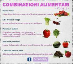 Combinazioni alimentari. Source: Veganboy