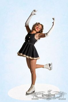 vintage ice skaters | Rare Vintage 1960s Ice Skating Dress with by VintageReveries, $175.00 ...