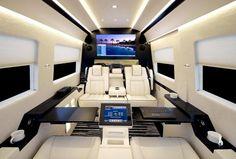 Interior Of Mercedes Benz Sprinter Becker JetVan Custom
