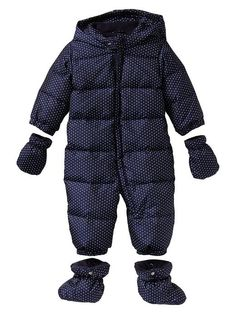 Warmest puffer snowsuit Product Image