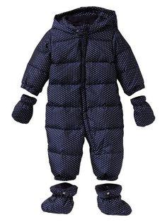 Warmest puffer snowsuit Product Image