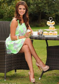 Lucy from TOWIE attends photocall for Macmillan Cancer Support's World's Biggest Coffee Morning
