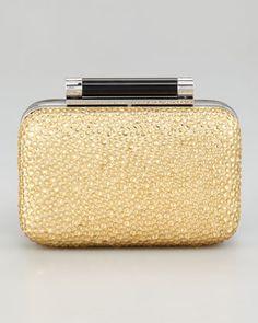 Tonda Pave Crystal Clutch Bag by Diane von Furstenberg at Neiman Marcus.