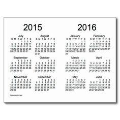 Calendar, Minis and School year on Pinterest