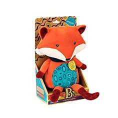 Baby B talk back stuffed fox - the absolute BEST money I've ever spent on a toy!!  My infant son can't get enough!! CLICK HERE to buy!