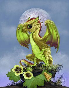 Gooseberry Dragon Digital Art by Stanley Morrison