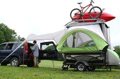 Kayak Trailer | The SylvanSport GO a Kayak Trailer and Tent Camper