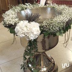 yau concept_yau flowers_yau events_ghirlanda pentru botez cu ghipsophila si lavanda