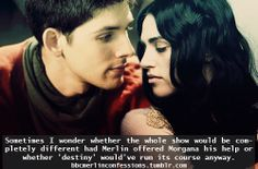 Imagine Merlin and Morgana fighting to protect their love against destiny. Just yes. --Description by DestinyandDoom