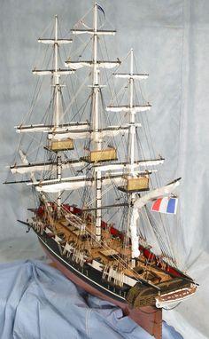 Astrolabe scale model ship