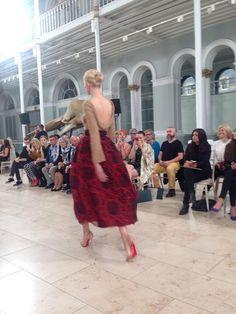 Edinburgh International Fashion Festival Opening Gala #EIFF #GraemeBlack #Erdos #Cashmere #Di Gilpin International Fashion, Festival Fashion, Edinburgh, Collaboration, Knitwear, Cashmere, Ballet Skirt, Couture, Knitting