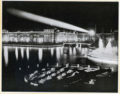 1893 Chicago World's Fair, lighting by Nikola Tesla and George Westinghouse, photo by William Henry Jackson, from the Field Museum archive George Westinghouse, Henry Jackson, World's Columbian Exposition, Agricultural Buildings, Field Museum, White City, Nikola Tesla, Historical Images, History Photos