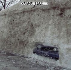 Canada, The Only Place You'll See Something Like This… The Meta Picture Dude Where's My Car, Meanwhile In Canada, Canada Eh, Canada Humor, Canadian Things, The Meta Picture, Laughter The Best Medicine, Canada Images, Picture Fails