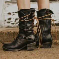 ec14801ba32 85 Best ♢ FreeBird Boots ♢ images in 2018 | Bootie boots, Leather ...