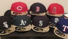 New Era 59Fifty 2015 Memorial Day MLB Baseball Camo Game Hat Cap Adult Fitted #NewEra