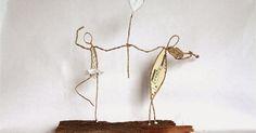 Une danseuse et son amoureux violoniste, Un couple de golfeurs, Et une maîtresse d'école.