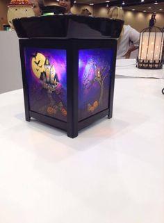 Scentsy 2015 Fall / Winter Holiday Halloween Lantern Warmer https://ambitiousmama.scentsy.us/