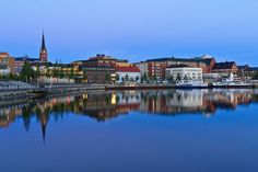 lulea sweden | Reflections of Luleå (Lulea) / North Sweden at Twilight | Flickr ...