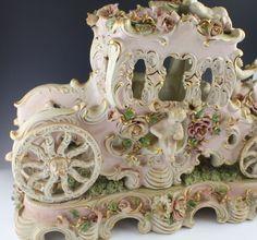 Capodimonte Lamps Antique Capodimonte Cherub Porcelain