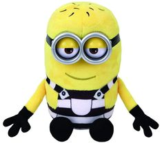 From the movie Despicable Me comes this little minion Tom in his jail suit. Licensed product of TY Beanie Babies Despicable Me 3 Jail Suit Tom Plush One per package inches tall Beanie Boos, Beanie Babies, Ty Plush, Despicable Me 3, Pixar Characters, All Toys, Gifts For Teens, Minions, Teddy Bear