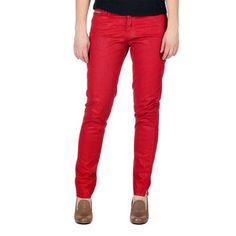 Coated Legging Jean Red, $78, now featured on Fab.