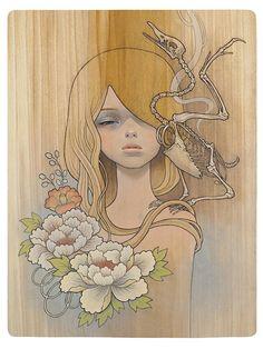 audrey kawasaki | http://www.artinthepicture.com/shop/images/audrey-kawasaki-no-shi.jpg