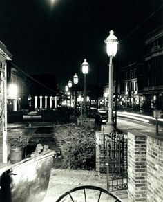 Olive Street East From Boyle Avenue, Gaslight Square. (1966) Missouri History Museum