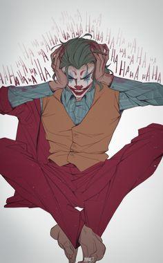 Joker art By Morket Der Joker, Joker Dc, Joker And Harley Quinn, Disney Tapete, Math Comics, Dc Comics, Joker Images, Joker Wallpapers, Anime Lindo