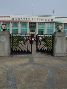 The Hoover Building, Perivale, West London.