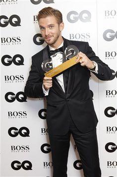 Dan Stevens - British GQ's Most Stylish Man 2013