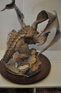 Dragon Wrym Sculpt WIP 12 by AntWatkins on DeviantArt