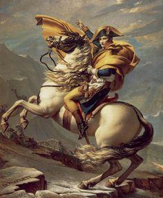 Napoléon à cheval (musée du château de Malmaison).