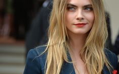 Download wallpapers Cara Delevingne, portrait, Hollywood, 2018, photoshoot, british actress, supermodels