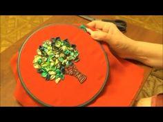 Некоторые советы по вышивке лентами.