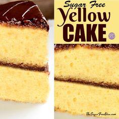 Diabetic Cake Recipes, Diabetic Friendly Desserts, Cake Mix Recipes, Healthy Recipes, Diabetic Foods, Diet Recipes, Diabetic Sweets, Splenda Recipes, Recipes