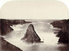 carleton watkins - coast view number one, 1863