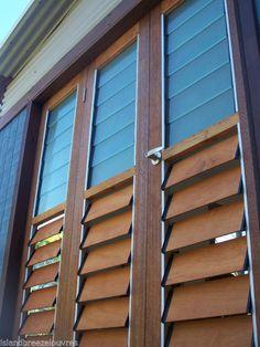LOUVRE WINDOW 6 BLADE ALUMINIUM FRAMES 860mm high AUSTARLAIN SELLER