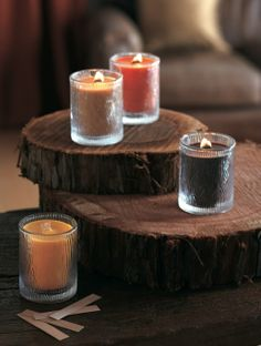Bougie Parfumée Nature's Light by PartyLite  Catalogue Hiver/Printemps